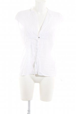Velvet Langarm-Bluse weiß klassischer Stil