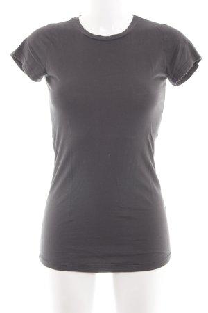 Velvet Longshirt silberfarben Casual-Look
