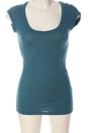 Velvet Lange top blauw casual uitstraling
