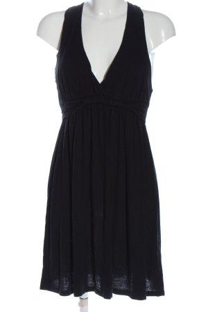 Velvet Mini Dress black elegant