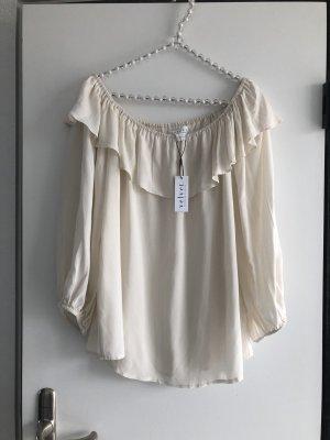 Velvet NEU Shirt Bluse in wollweiß /Creme