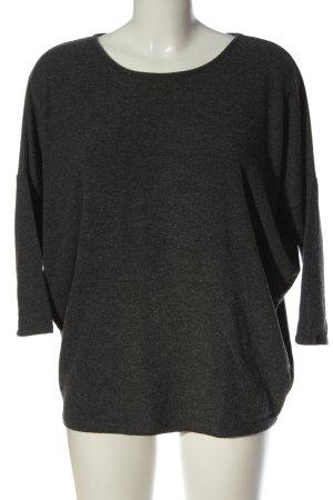 Velvet Maglione girocollo grigio chiaro puntinato stile casual