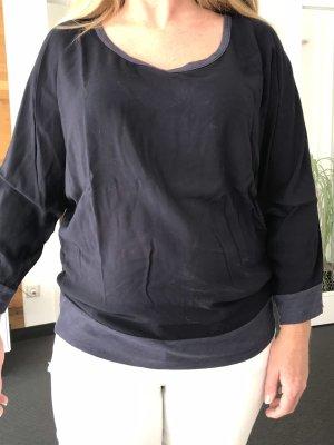 Velvet Shirt- Bluse Größe L