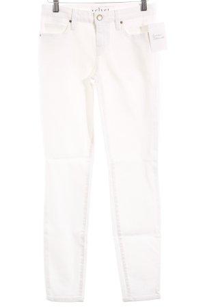 Velvet Skinny Jeans weiß Casual-Look
