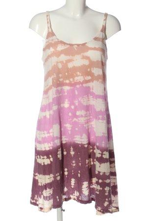 Velvet Sommerkleid mehrfarbig Casual-Look