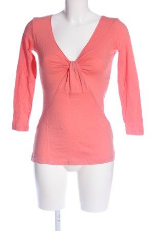Velvet Strickshirt pink Casual-Look