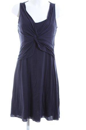 Velvet Sweatkleid blau Casual-Look