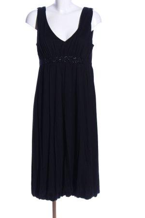 Velvet Trägerkleid schwarz Business-Look