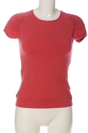 Venice beach Koszulka basic czerwony W stylu casual