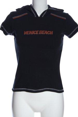 Venice beach Blusa con capucha multicolor look casual