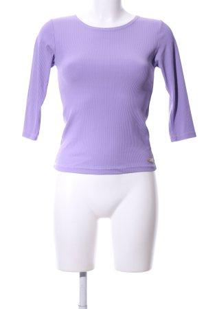 Venice beach Top à manches longues violet style décontracté