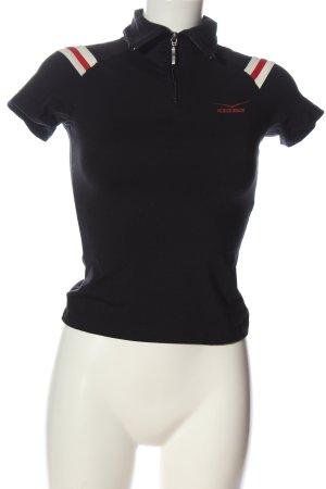 Venice beach Koszulka z golfem czarny W stylu casual