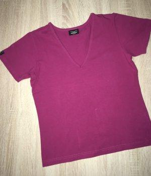 Venice beach T-shirt de sport violet coton