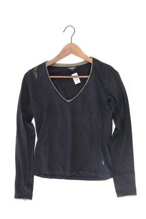 Venice beach Camisa con cuello V negro Algodón