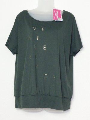 Venice beach Sportshirt olijfgroen-bos Groen Gemengd weefsel