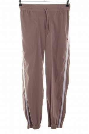 Venice beach Trackies brown-white casual look