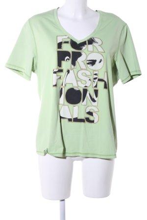 Venice beach Sportshirt Schriftzug gedruckt Casual-Look