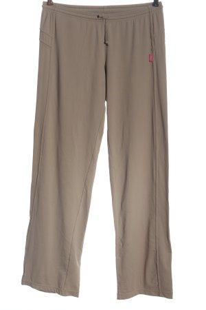 Venice beach Pantalone fitness marrone puntinato stile casual