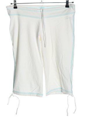 Venice beach Pantalón deportivo blanco puro-azul look casual