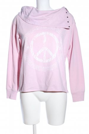 Venice beach Sweatshirt pink Motivdruck Casual-Look