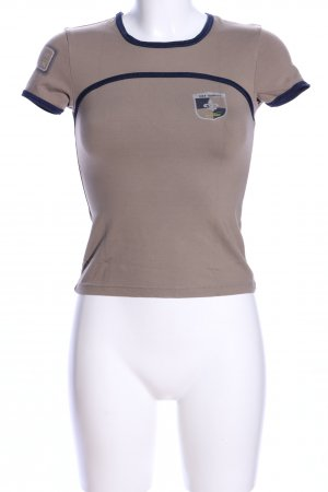 Venice beach T-Shirt braun Casual-Look