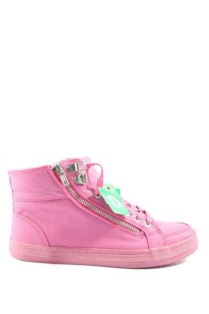 Venice High Top Sneaker pink Casual-Look