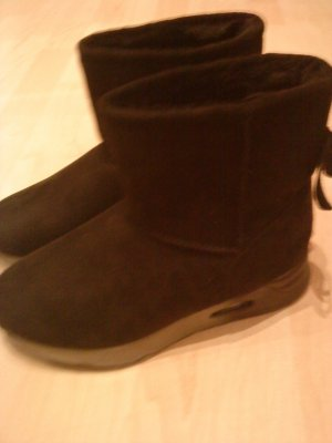 Venice Snow Boots black-grey synthetic
