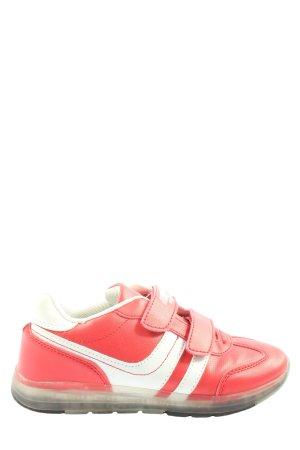 Venice Zapatillas con hook-and-loop fastener rojo-blanco look casual