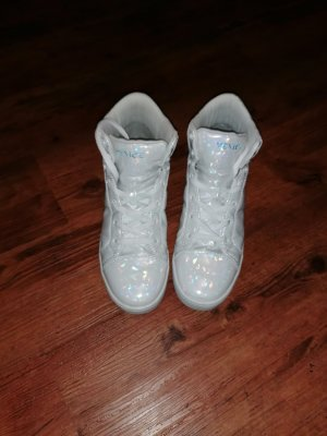 Venice High Top Sneaker white-light blue