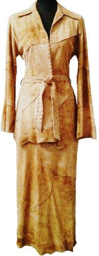 ,,VENT  COUVERT''  Designer  Lederkostüm  *  Gr. M  *