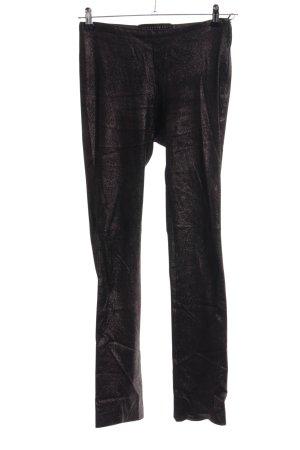 Ventcouvert Röhrenhose bronzefarben-schwarz meliert Casual-Look