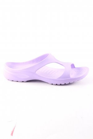 T-Strap Sandals lilac casual look