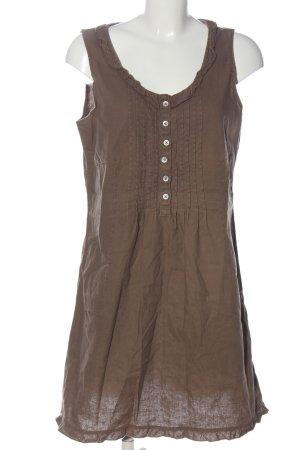 Venturini A-Linien Kleid braun Casual-Look
