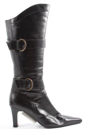 Venturini Absatz Stiefel schwarz Casual-Look
