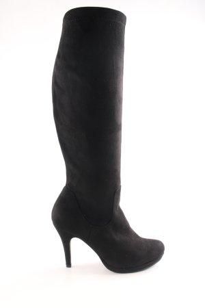 Venturini Absatz Stiefel schwarz Elegant