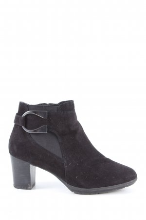Venturini Ankle Boots schwarz Business-Look