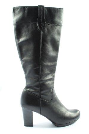 Venturini High Heel Stiefel schwarz Casual-Look