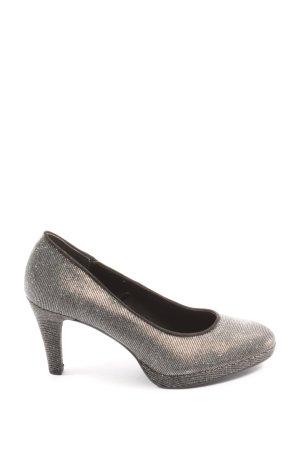 Venturini High Heels silberfarben Casual-Look