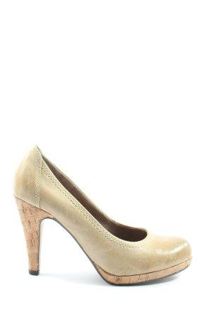 Venturini High Heels creme Elegant