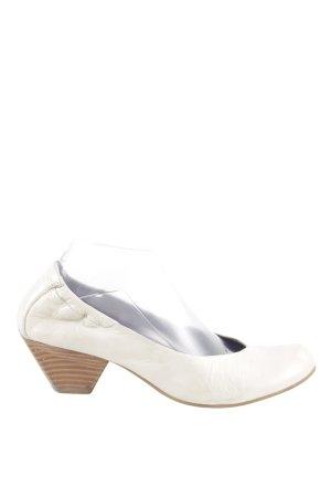 Venturini High Heels weiß extravaganter Stil