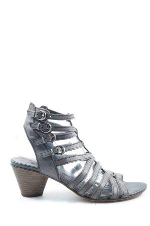 Venturini Riemchen-Sandaletten blau Casual-Look