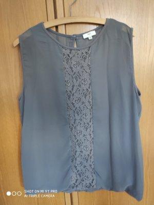 Venturini Shirt Bluse Sommer 42 44 grau