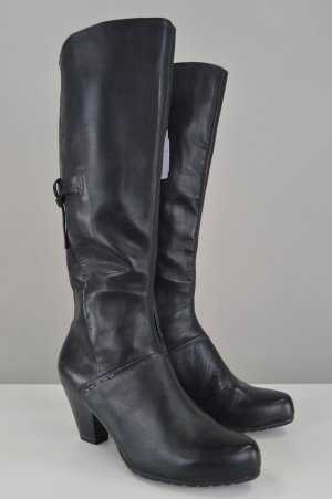 Venturini Schwarz Neuwertig Größe 37 Stiefel Echtleder 29DHIWEY