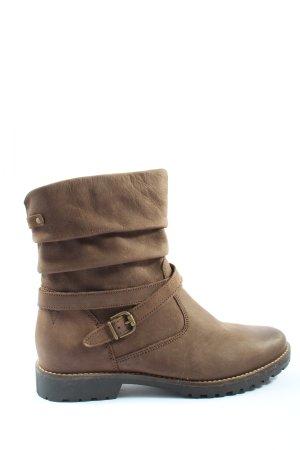 Venturini Botas de invierno marrón look casual