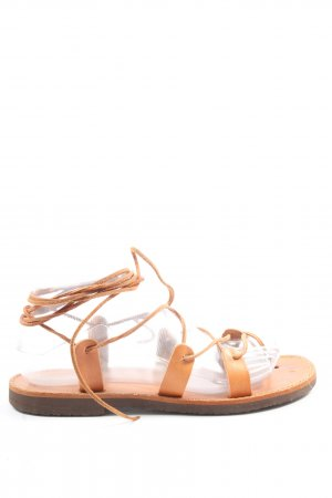 Venus Roman Sandals light orange casual look