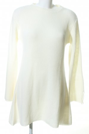 Venus Knitted Dress natural white casual look