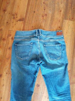 Pepe Jeans Pantalon cinq poches bleu jean