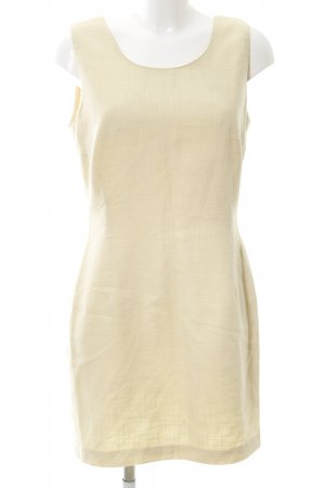 Vera Condotti A-Linien Kleid creme Business-Look
