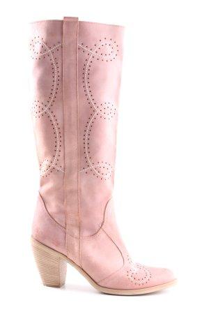 Vera Gomma Westernstiefel pink Casual-Look