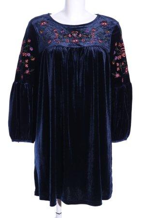 Vera & Lucy Ballonkleid blau Elegant